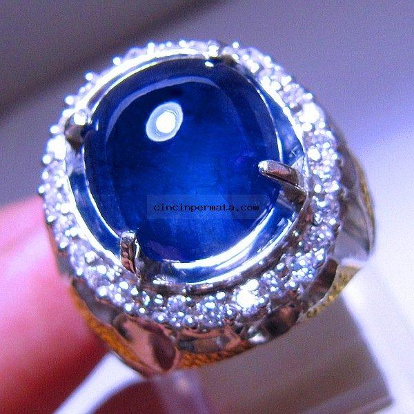 Batu Mulia Blue Safir