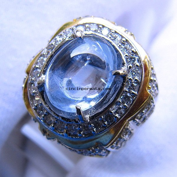 batu permata natural light blue safir cincinpermatacom