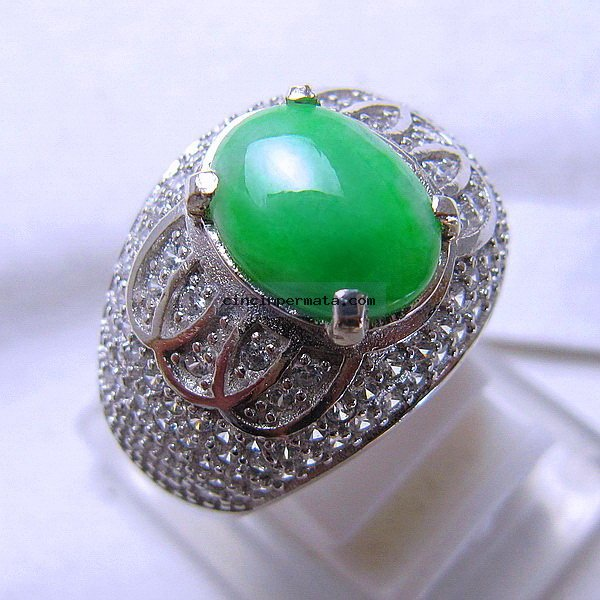 Gambar Cincin Batu Giok Jade Grade Cincinpermata Jual