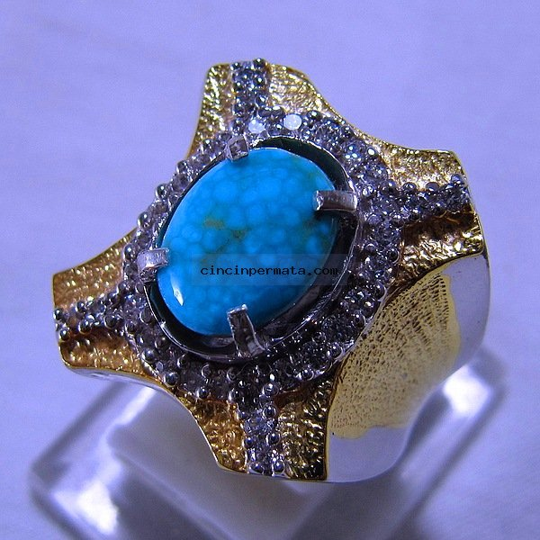 batu permata, cincin permata, batu mulia CINCIN BATU PIRUS PERSIA
