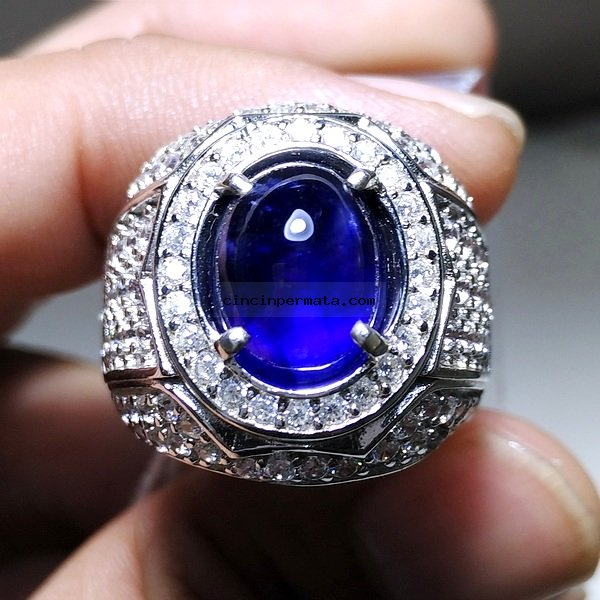 cincin permata batu blue safir cincinpermatacom jual